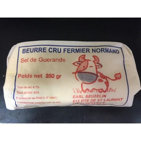 Le beurre au Sel de Guerande
