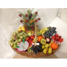 Corbeille de fruits à 30 euros
