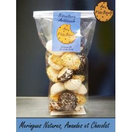 Biscuits de Grémonville (Meringues Nature, Amandes et Chocolat)
